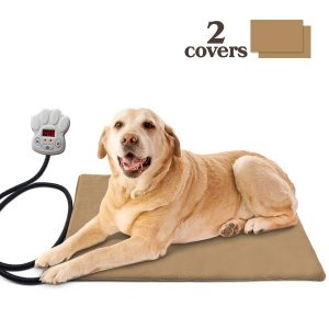Pet Heating Pad Waterproof Chew Resistant Overheat Protection