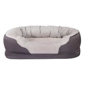 AsFrost, Orthopedic Memory Foam Dog Bed Removable Washable Cover