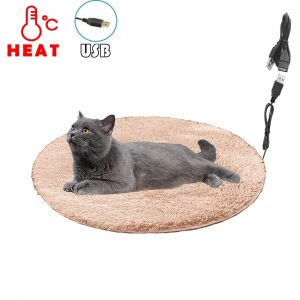 Pet Heating Pad for Cats and Puppies, Constant Temperature Warming Mat