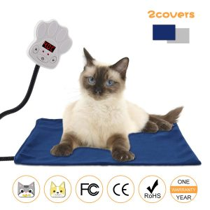 Heating Pads for Dogs Cats Waterproof Chew Resistant Removable Cover
