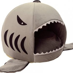 Self Heating Pet Bed Removable Bed Cushion Mat - Shark