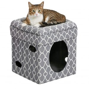 Cat House Cat Condo Curious Cat Cube, MidWest